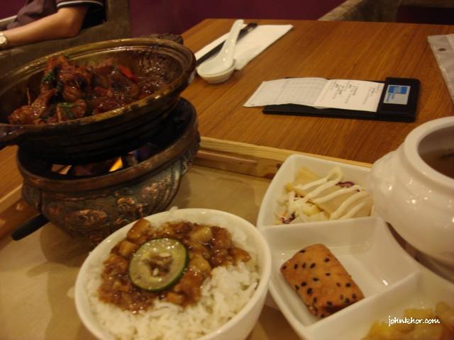 3 Cups Chicken @ Xian Ding Wei, Queensbay Mall, Penang