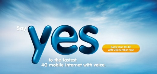 YES, the World's 1st 4G Mobile Internet Network