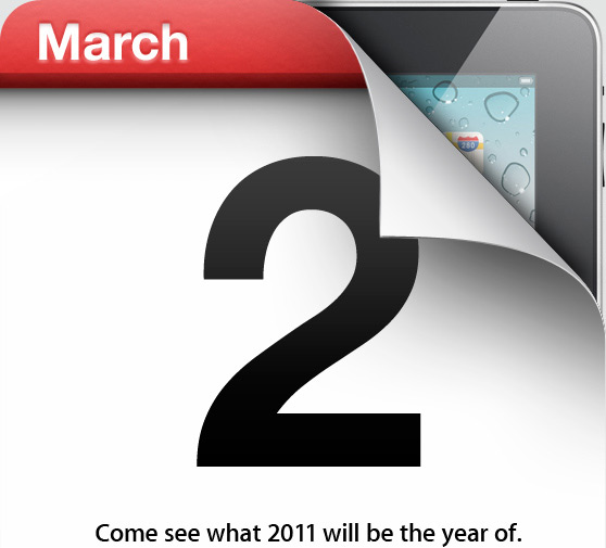 iPad 2 Possible Release Date @ March 2 2011