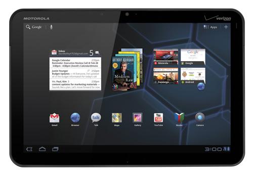 Motorola Xoom @ Google Android Honeycomb 3.0