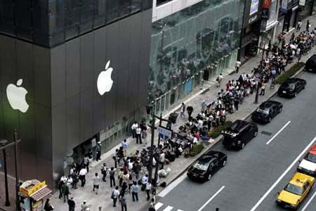 Apple Tokyo Store offers Japan earthquake victims shelter