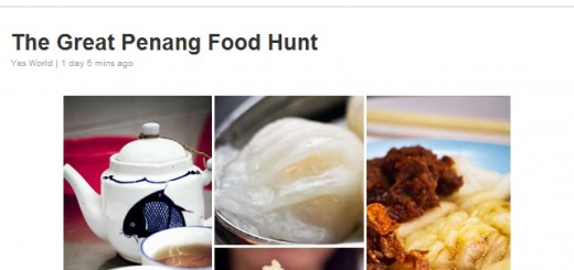 YES 4G the Great Penang Food Hunt 2