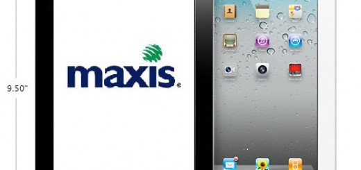 Black & white iPad 2 size @ Maxis