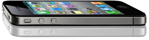 iPhone 4 side shot
