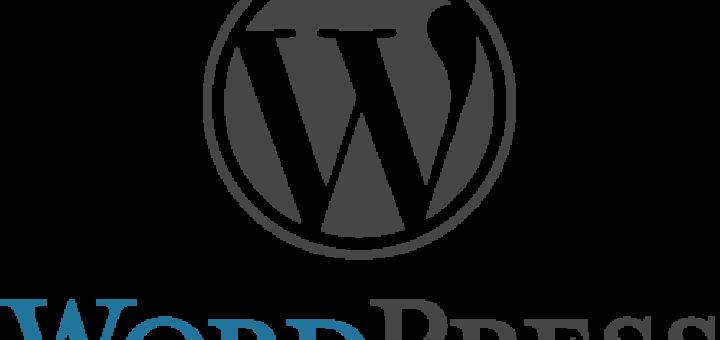 Wordpress logo for blog