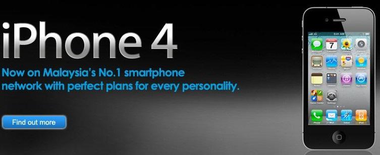 Celcom iPhone 4
