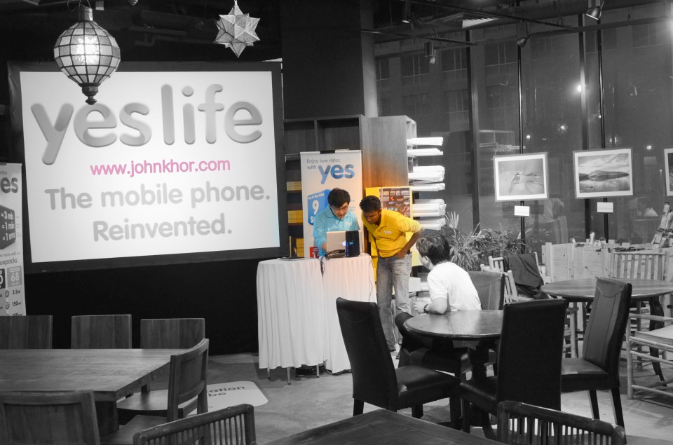 Yes Life iOS Bloggers Event @ National Geographic Cafe, Lot 10 (4)
