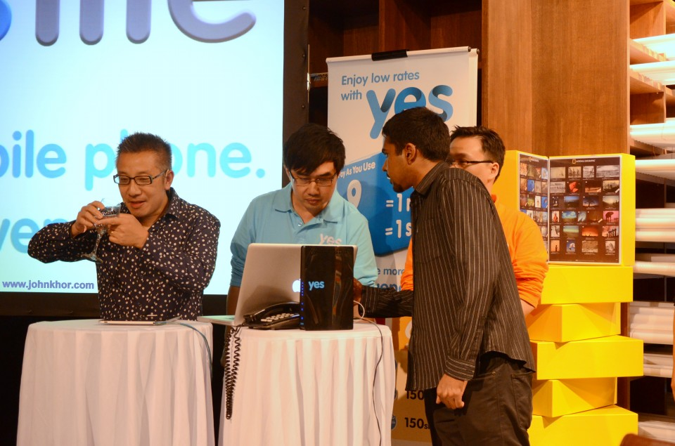 Yes Life iOS Bloggers Event @ National Geographic Cafe, Lot 10 (9)