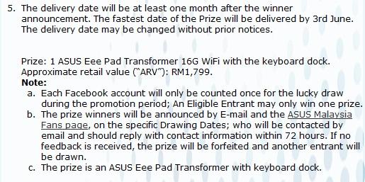 Asus Eee Pad Transformer Malaysia price