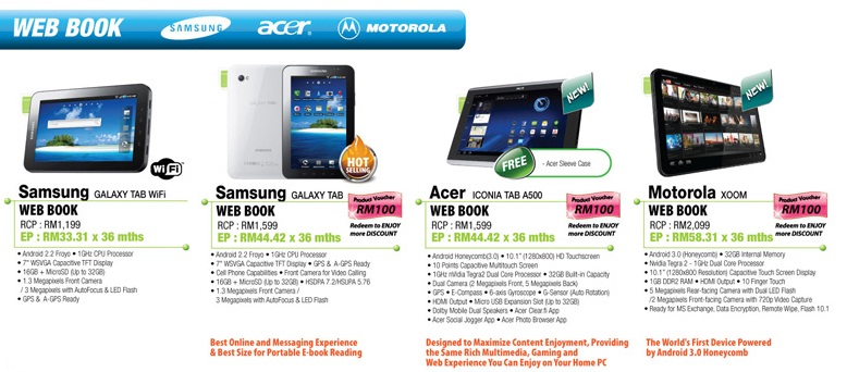 Sen Heng IT Fair Acer Iconia Tab A500