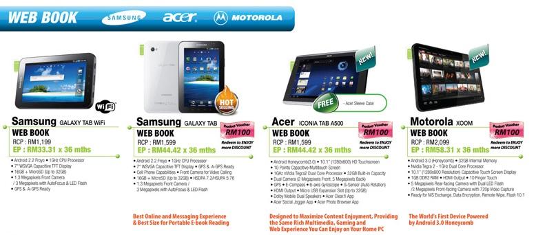 Sen Heng IT Fair Acer Iconia Tab A500