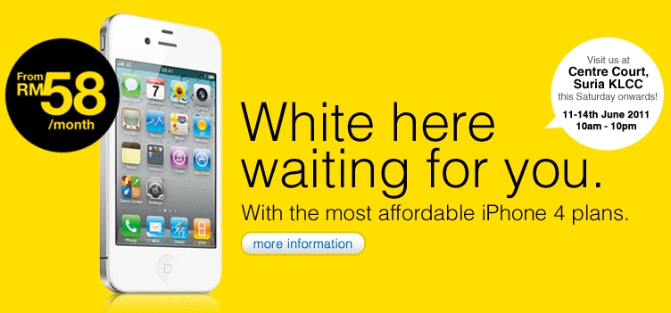DiGi White iPhone 4 launch