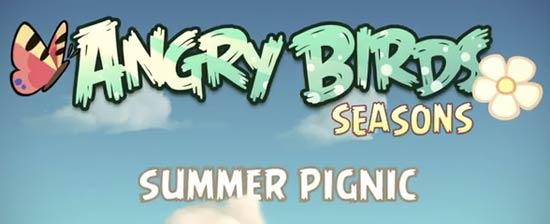 Rovio Angry Birds Seasons New Episode Summer Pignic