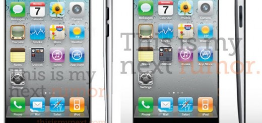 The rumored iPhone 5 design