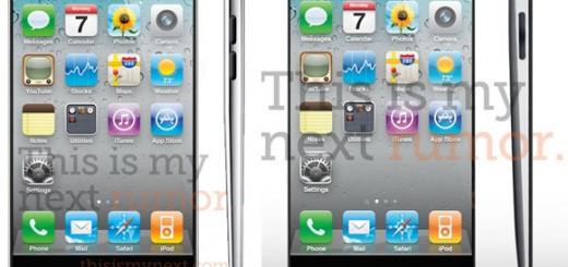The rumored iPhone 5 design