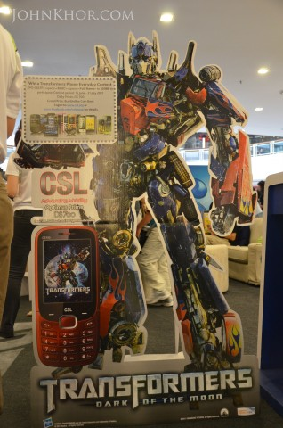 CSL Transformer Phone DS700 Launching Queensbay Mall 1