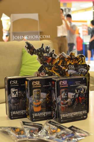 CSL Transformer Phone DS700 Launching Queensbay Mall 3