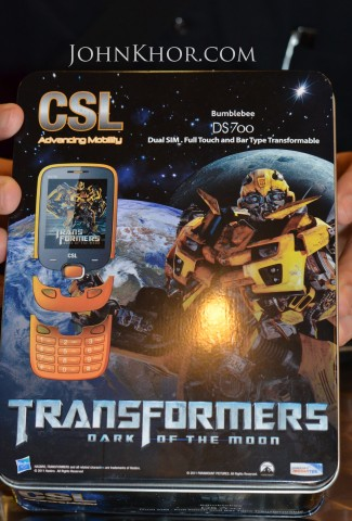 CSL Transformer Phone DS700 Launching Queensbay Mall 8
