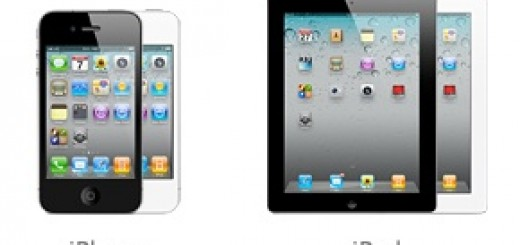 iPhone 4 iPad 2 Black & White