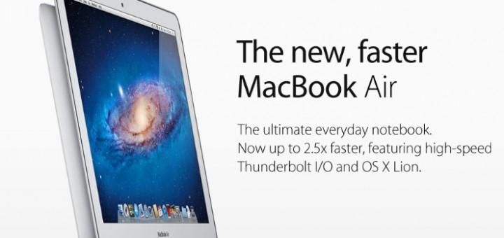 MacBook Air refresh 2011