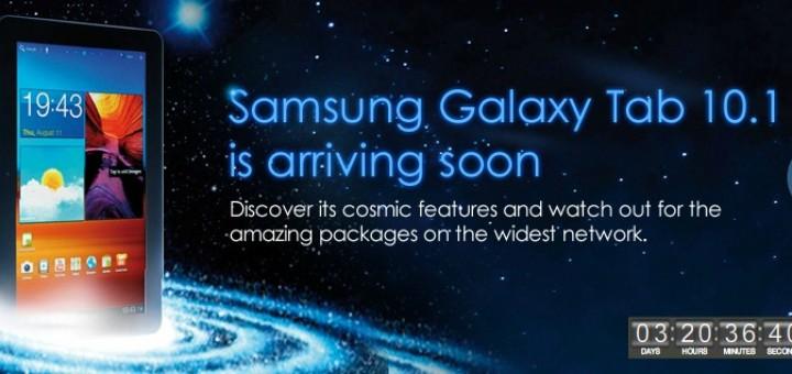Celcom & Samsung Galaxy Tab 10.1-inch launch date