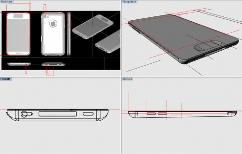 iPhone 5 rumored design 2