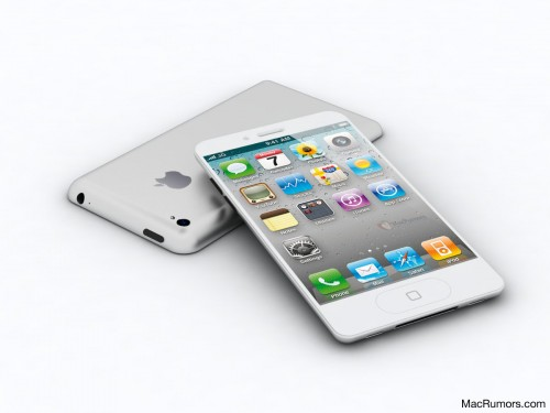 iPhone 5 rumored design 5