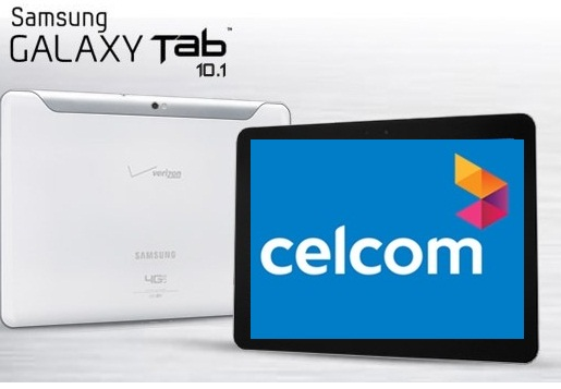 Samsung Galaxy Tab 10.1 inch with Celcom Malaysia