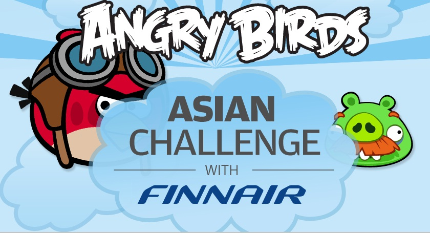 Angry Birds Asian Challenge with Finnair