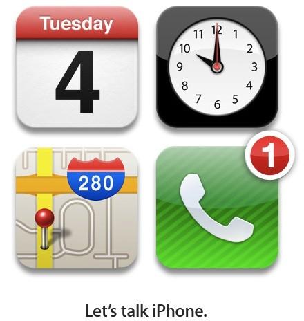 Apple iPhone 5/4S event 2011
