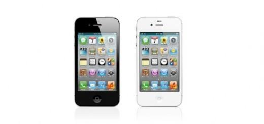 iPhone 4S on Apple website white & black