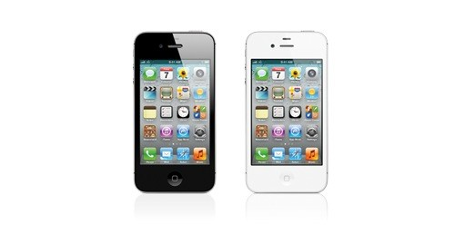 iPhone 4S on Apple website white & black