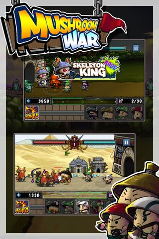 Android Game: Mushroom War (2)