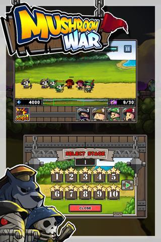 Android Game: Mushroom War (3)