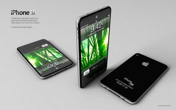 iPhone 5 Desgin Mockup Picture (2)