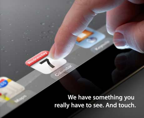 Apple iPad 3 Event