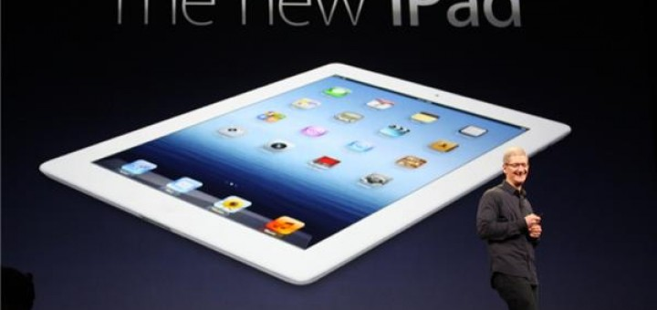 The New iPad 2012