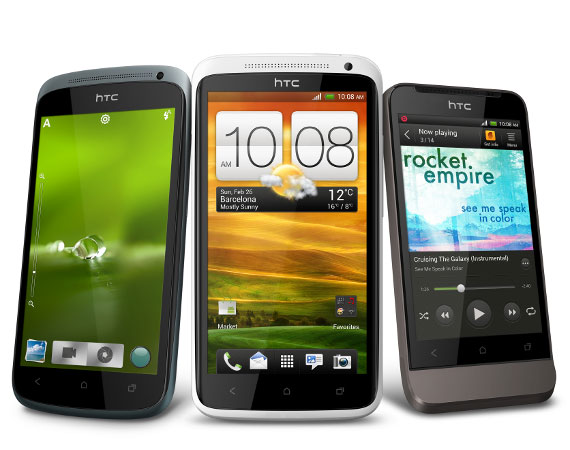 HTC One Series X V S