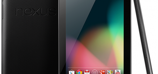 Google Nexus 7 Tablet Design Front Back