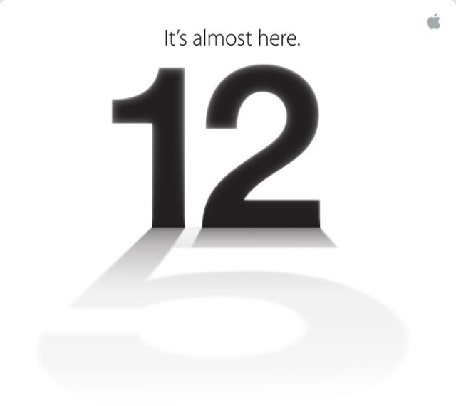 iPhone 5 Launch Day Invite