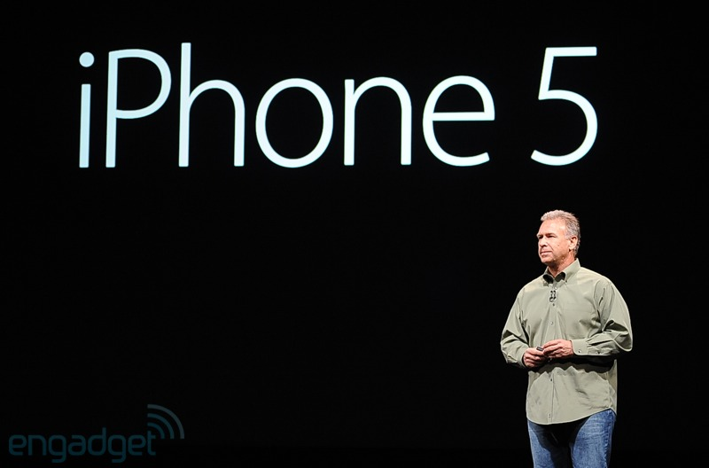 iPhone 5 Wording Phil Schiller