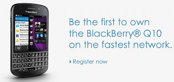 Celcom's Pre-registration Blackberry Q10 In Malaysia