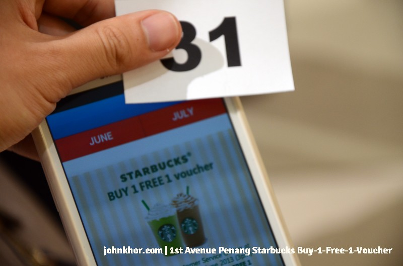 1st Avenue Penang Mobile App Launches with Starbucks Buy-1-Free-1 Voucher (1)