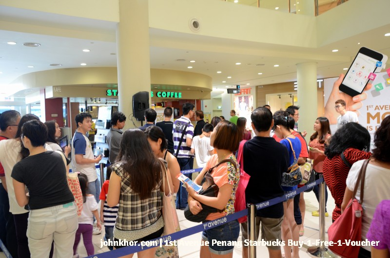 1st Avenue Penang Mobile App Launches with Starbucks Buy-1-Free-1 Voucher (2)