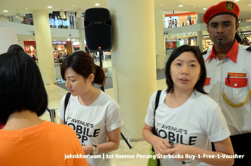 1st Avenue Penang Mobile App Launches with Starbucks Buy-1-Free-1 Voucher (3)