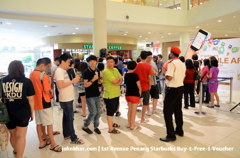 1st Avenue Penang Mobile App Launches with Starbucks Buy-1-Free-1 Voucher (4)