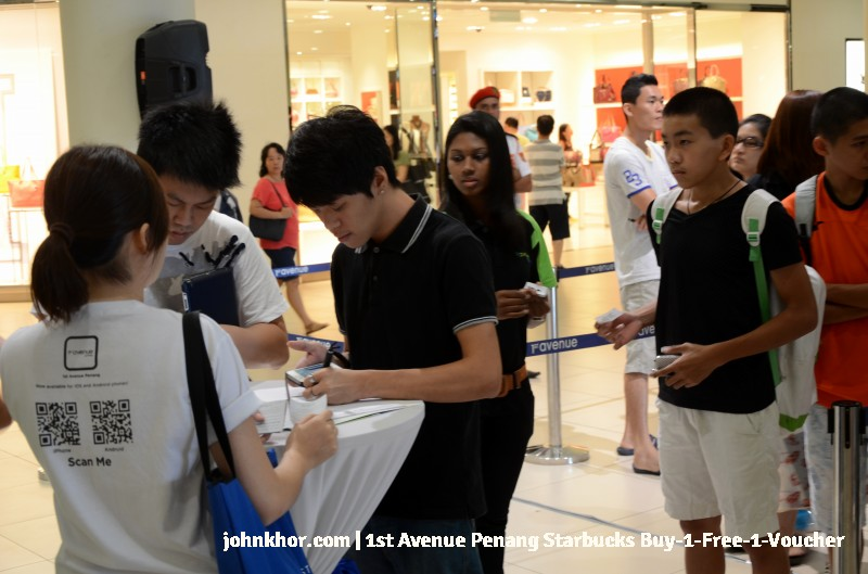 1st Avenue Penang Mobile App Launches with Starbucks Buy-1-Free-1 Voucher (5)