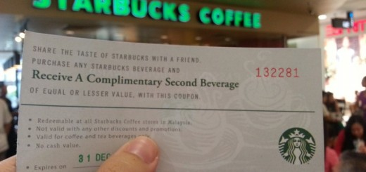 1st Avenue Penang Mobile App Launches with Starbucks Buy-1-Free-1 Voucher (6)