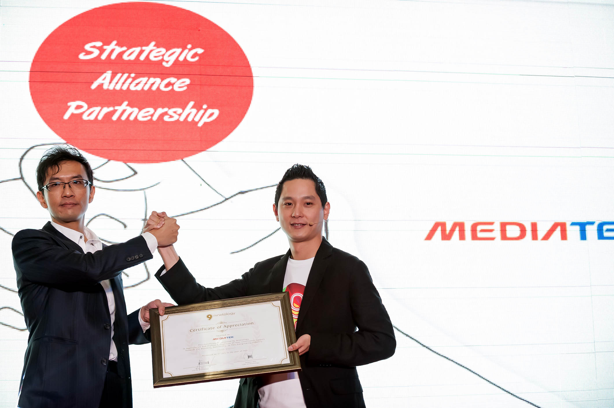 NINETOLOGY MEDIATEK PARTNERSHIP