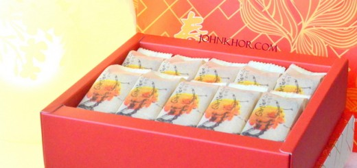 Gartien Pineapple Cake with 2014 Chinese New Year Theme (1)